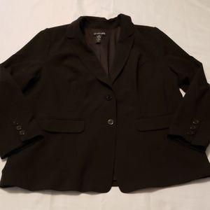 Lane Bryant plus size Blazer Black Size 22